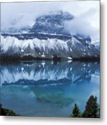 Bow Valley Storm Metal Print