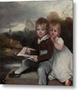 Bowden Children Metal Print