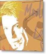Bowie Modern Love  Metal Print