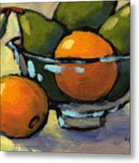 Bowl Of Fruit 4 Metal Print