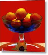 Bowl Of Fruit Metal Print