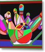 Bowling Sports Fans Decoration Acrylic Fineart By Navinjoshi At Fineartamerica.com  Down Load  Jpg F Metal Print