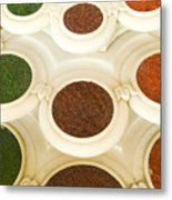 Bowls Of Spices - India Metal Print