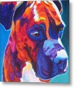 Boxer - Jax Metal Print by Alicia VanNoy Call