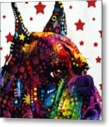 Boxer Love Metal Print by Dean Russo