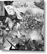 Boxer Rebellion Metal Print
