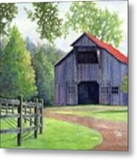 Boyd Mill Barn Metal Print