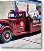 Boyle Racing Headquarters  Metal Print