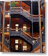 Bradbury Building Atrium Metal Print