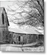 Bradford County Road Metal Print