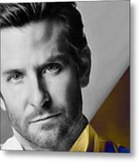 Bradley Cooper Collection Metal Print