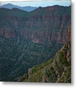 Bradost Mountain Metal Print
