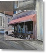 Brady Street - Peter Scortino Bakery Layered Metal Print