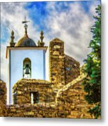 Braganca Bell Tower Metal Print