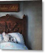 Brahms' Lullaby Metal Print