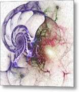 Brain Damage Metal Print
