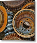Brake Drums - Disc Brakes - Shock Assembly Metal Print