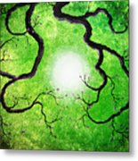Branches Holding The Sun Metal Print