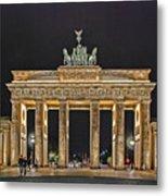 Brandenburg Gate Metal Print by Joachim G Pinkawa