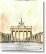 Brandenburger Tor, Berlin Metal Print