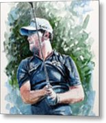 Branden Grace Watercolor Metal Print
