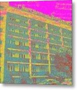 Bransk Hotel Metal Print