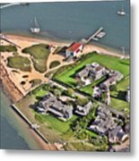 Brant Point Light House Nantucket Island 2 Metal Print by Duncan Pearson