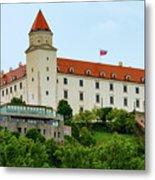 Bratislava Castle One Metal Print