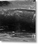 Breach Inlet Morning Waves 1 Metal Print