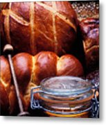 Bread And Honey Metal Print