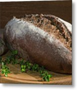 Bread With Spice Metal Print