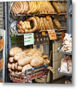 Breads For Sale Metal Print