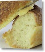 Break Bread Metal Print