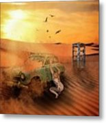 Breakdown Metal Print
