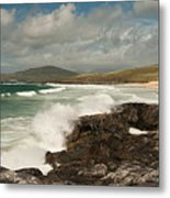 Breakers Metal Print