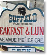 Breakfast And Lunch Metal Print