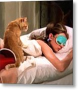 Breakfast At Tiffany's 4 Metal Print