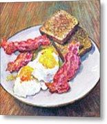 Breakfast Is Served Metal Print