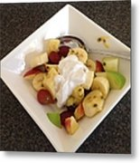 Fruit Salad For Breakfast  Metal Print