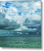 Breaking Clouds In Key West, Florida Metal Print