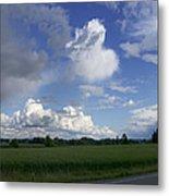 Breaking Storm Over The Willamette Valley 170522-170551 Metal Print