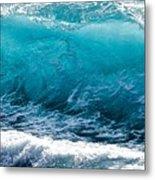 Breaking Wave At Kekaha Beach Metal Print