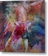 Breakthrough Metal Print