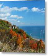 Breathtaking Bluffs _ Scarborough Bluffs Metal Print