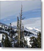 Breckenridge Resort In Summit County Colorado Metal Print