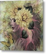 Breeze Blowing With Fragrance Metal Print