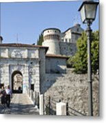 Brescia Castle Metal Print