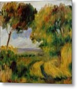 Breton Landscape Trees And Moor 1892 Metal Print