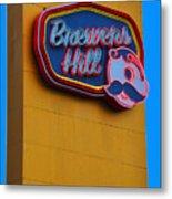 Brewers Hill Retro Metal Print