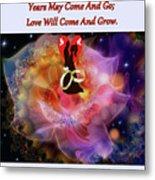 Brian Exton Night Flowers  Bigstock 164301632  231488 Metal Print